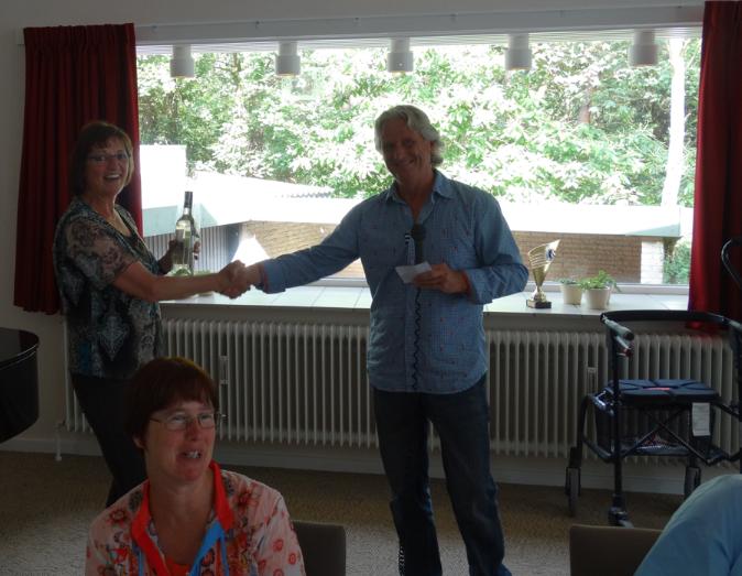 Eerste prijs families: Familie Reijger!