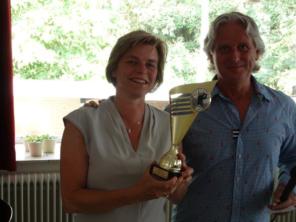 Eerste prijs individueel: Carmen Koning.